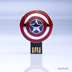 Marvel Avengers: Age of Ultron America Captain USB Flash Drive , InfoThink X Marvel - Fantasyusb Store
