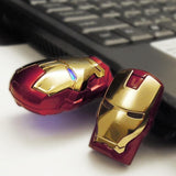 Marvel Iron Man 3 USB Flash Drive Mark 42 & Mark VI Tony Stark Official Licensed By Marvel , InfoThink X Marvel - Fantasyusb Store