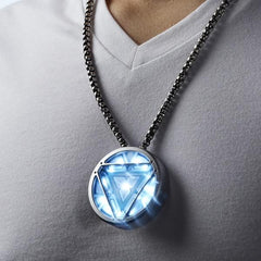 Marvel Iron Man 3 ARC Reactor USB Flash Drive + Luxury Necklace