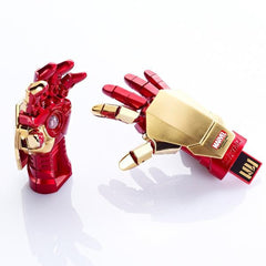Marvel Iron Man 3 Gauntlet USB Flash Drive , InfoThink X Marvel - Fantasyusb Store