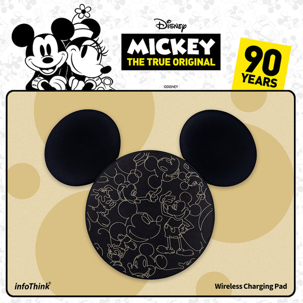 Disney Mickey's 90th Wireless Charging Pad , Disney - Fantasyusb Store