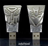 Transformers Autobot vs Decepticons Flash Drive By Hasbro Beer Opener , Hasbro Toy Inc. - Fantasyusb Store