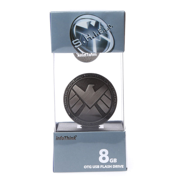 Marvel Agents of S.H.I.E.L.D. OTG + USB Flash Drive , InfoThink X Marvel - Fantasyusb Store