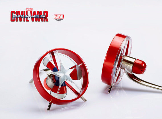 Civil War: Captain America Mini Fan , MARVEL - Fantasyusb Store