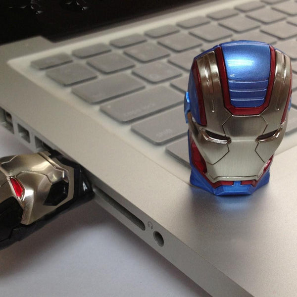 Marvel Iron Man 3 Iron Patriot USB Flash Drive