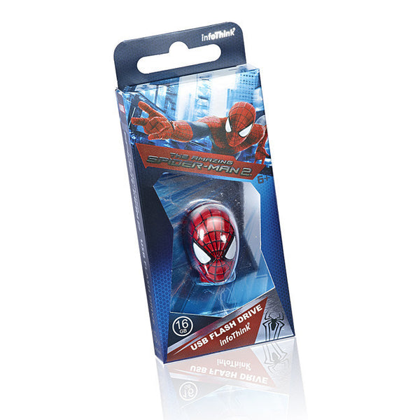 DC Comics The Amazing Spider-Man 2 USB Flash Drive , InfoThink X Marvel - Fantasyusb Store