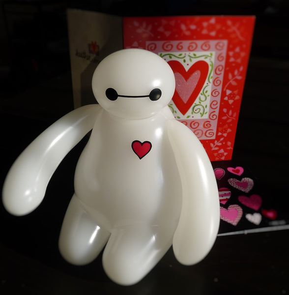Valentine's Day Big Hero 6 Baymax LED Nightlight