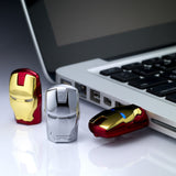 Marvel IronMan 2 War Machines Silver USB Flash Drive