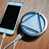 Marvel Civil War Captain America ARC Reactor Power Bank