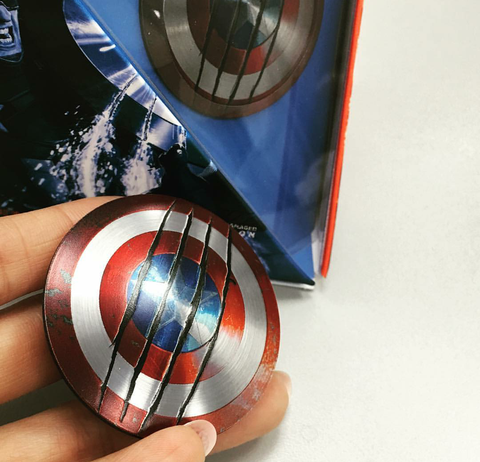 Captain America Civil War Shield Stick for Cell Phone or PC , MARVEL - Fantasyusb Store