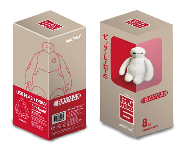 Big Hero 6 Baymax USB Flash Drive , Disney - Fantasyusb Store