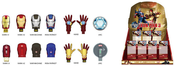 Marvel Iron Man 3 Mark 42 USB Flash Drive , InfoThink X Marvel - Fantasyusb Store