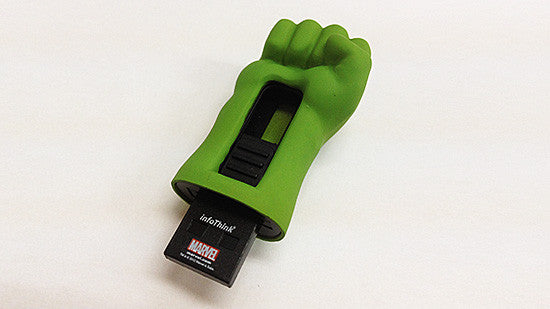 Marvel Avengers Hulk Fist USB2.0 Flash Drive , MARVEL - Fantasyusb Store