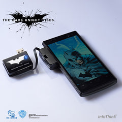 DC Comics The Dark Knight Rise Batman Power Bank , DC Comic - Fantasyusb Store