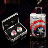 Marvel Avengers True Wireless Stereo Headphones - Captain America , MARVEL - Fantasyusb Store