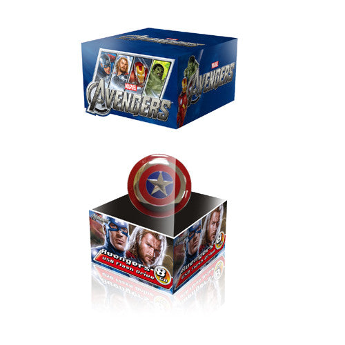 Marvel Avengers America Captain USB Flash Drive , MARVEL - Fantasyusb Store
