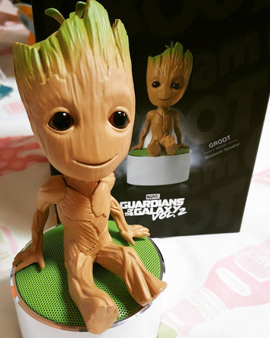 Guardians of the Galaxy Vol 2 Groot Bluetooth Speaker , InfoThink X Marvel - Fantasyusb Store