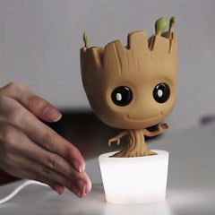 Baby Groot Interactive Lamp , InfoThink X Marvel - Fantasyusb Store