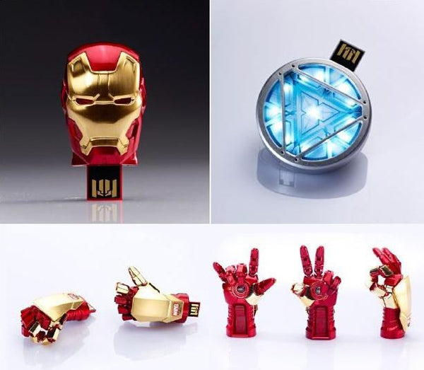 Marvel Iron Man 3 Mark 42 USB Flash Drive , MARVEL - Fantasyusb Store