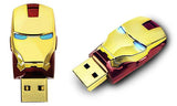 Marvel Iron Man 3 USB Flash Drive Mark 42 & Mark VI Tony Stark Official Licensed By Marvel