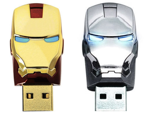 Iron Man 2 USB2.0 Flash Drive Helmet , MARVEL - Fantasyusb Store