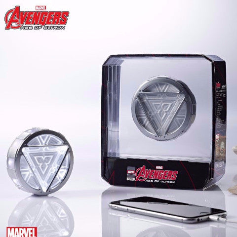 Marvel Civil War Captain America ARC Reactor Power Bank , InfoThink X Marvel - Fantasyusb Store