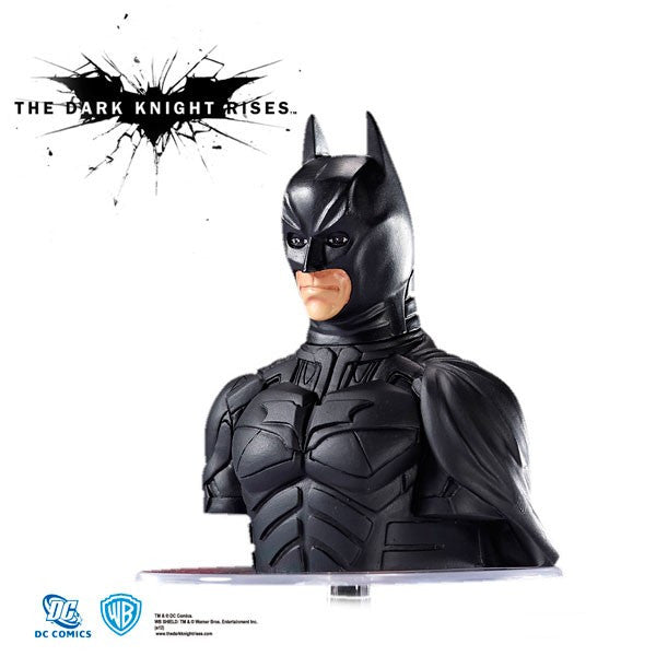 DC Comic Batman Bust Figure with Built-in Storage