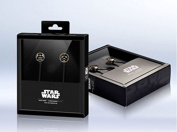 Classic Star Wars Darth Vader X Stormtrooper Earbuds , Star Wars - Fantasyusb Store