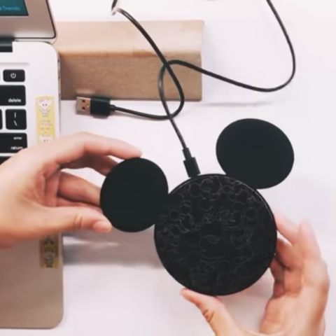 Disney Mickey's 90th Wireless Charger , Disney - Fantasyusb Store