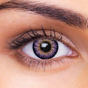 Violet Colored Contacts