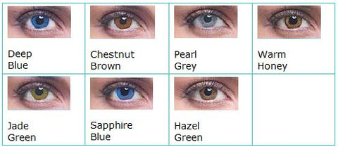 Acuvue 2 Color Chart