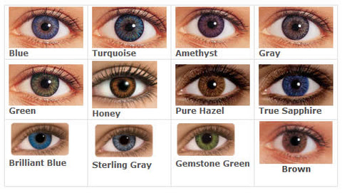 Freshlook Color Chart