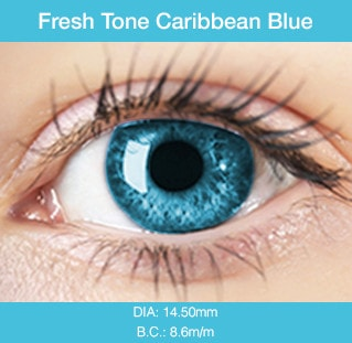 Fresh Tone Caribbean Blue