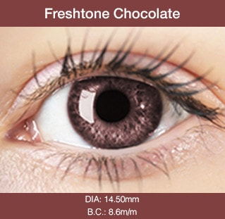 Fresh Tone Chocolate - Buy Best Quality Non Prescription Colored Contact Lenses - 1
