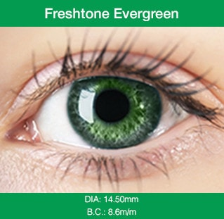 Freshtone Evergreen - Buy Best Quality Non Prescription Colored Contact Lenses - 1