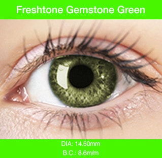 Freshtone Gemstone Green - Buy Best Quality Non Prescription Colored Contact Lenses - 1