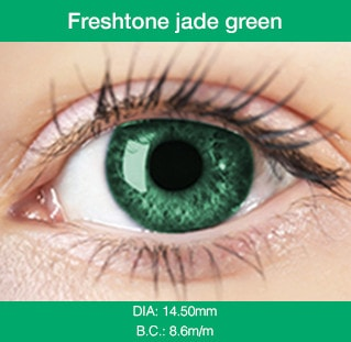 Freshtone Jade Green - Buy Best Quality Non Prescription Colored Contact Lenses - 6