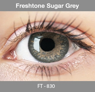 Fresh Tone Sugar Grey - Buy Best Quality Non Prescription Colored Contact Lenses - 1
