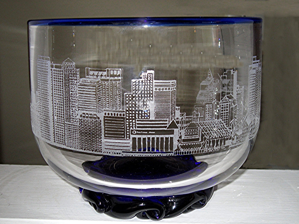 Estate Boston Harbor Bowl by Pairpoint Crystal