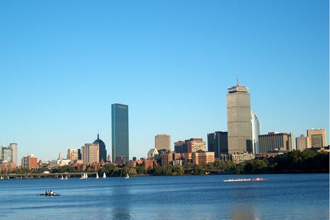 Boston Viewed from the Charles River