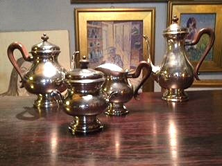 Buccellati Sterling Silver estate 4 piece coffee set