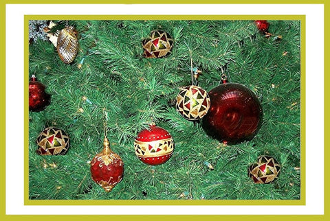 Christmas Balls on Tree