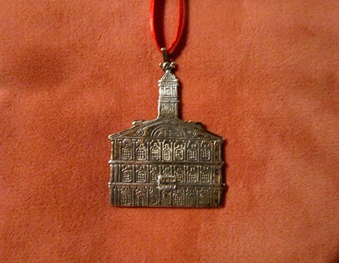Faneuil Hall Sterling Silver Christmas Tree Ornament