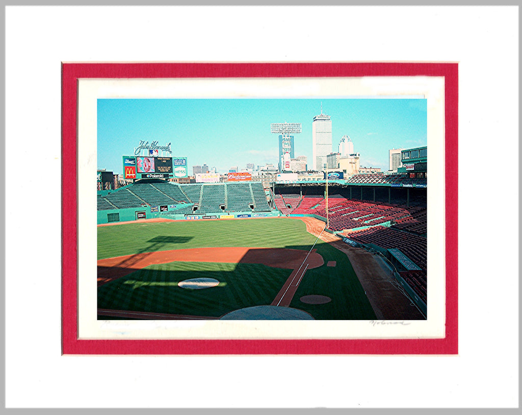 Fenway Park Matted Print