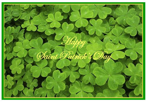 Happy Saint Patrick's Days, Field of Shamrocks