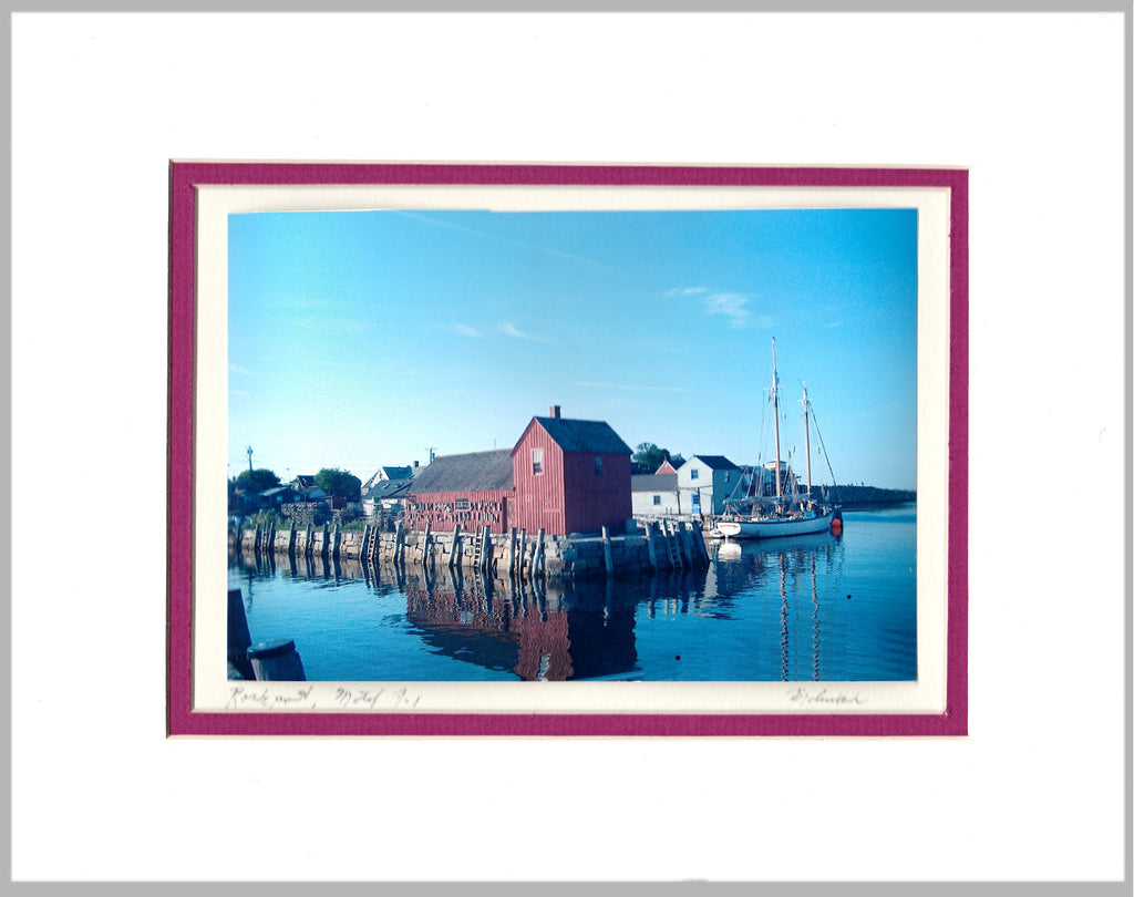 Lobster Shack Matted Print