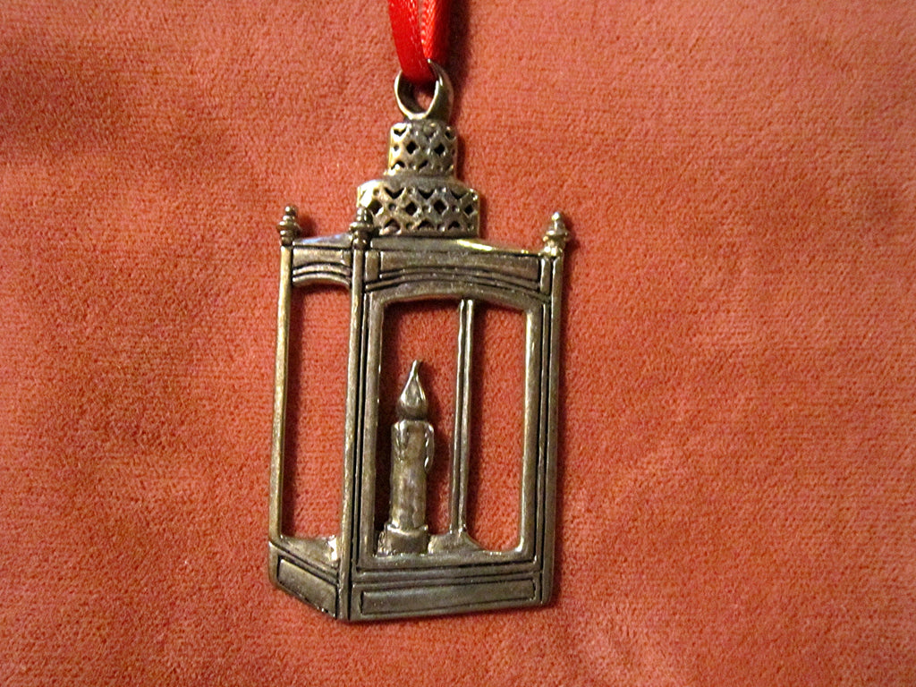 Paul Revere Sterling Silver Christmas Tree Ornament