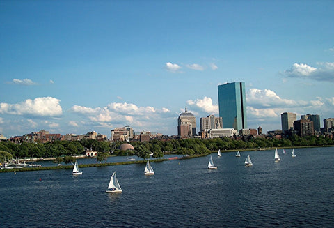 Sailing on the Charles