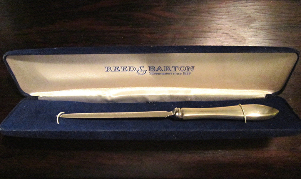 Reed and Barton Sterling Silver estate Letter Opener