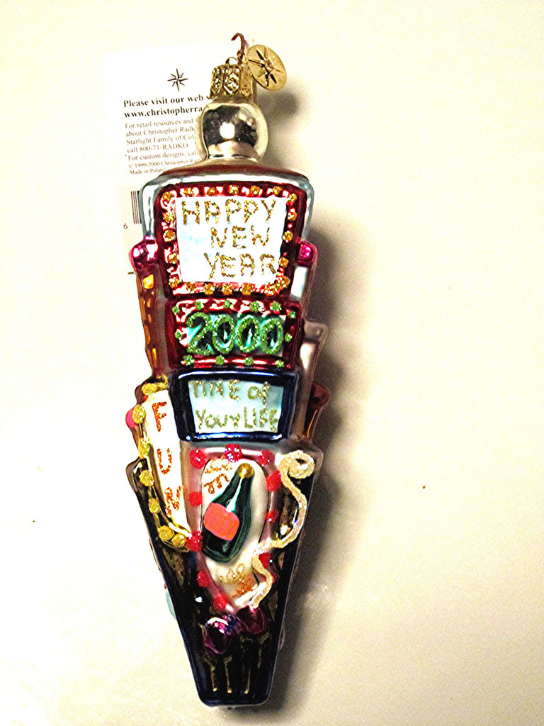 Times Square 2000 Christmas Tree Ornament